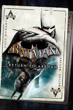 Batman: Return to Arkham - Key Art