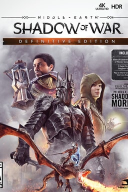 Middle-earth: Shadow of War Definitive Edition - Key Art