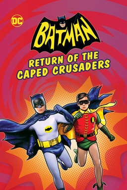Batman: Return of the Caped Crusaders - Key Art