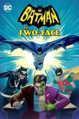 Batman vs. Two-Face - Illustration