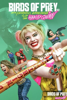 Birds of Prey (and the Fantabulous Emancipation of One Harley Quinn) - Key Art