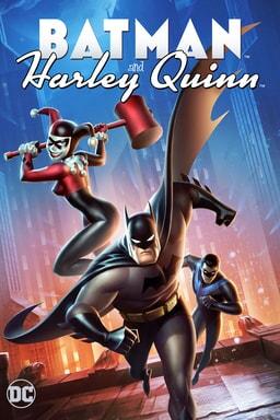 Batman and Harley Quinn - Key Art