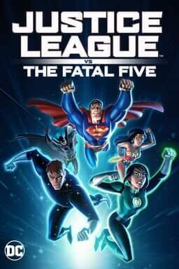 Justice League vs. The Fatal Five - Illustration