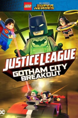 LEGO DC Comics Super Heroes – Justice League: Gotham City Breakout - Key Art
