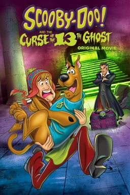 Scooby Doo! And The Curse Of The Thirteenth Ghost - Key Art